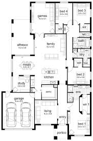 765 best homes 4 bedrooms images on pinterest house floor floor plan friday 4 bedroom family home i d remove the games room for more outdoor space