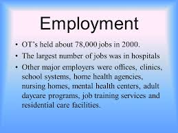 jobs for a history major occupational therapist table of contents history employment