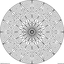 mandala circles coloring pages aecost net aecost net