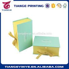 boite emballage cadeau en carton personnalisé carton pliable emballage cadeau boîte avec fermeture