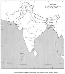 physical map of asia blank blank outline maps