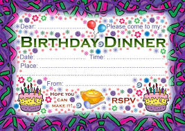invitation template for birthday with dinner birthday dinner invite my birthday pinterest birthday dinners