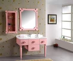 Pink Bathroom Ideas Appealing Assorted Vanity Cabinets Style Will Beautify Your