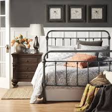 Metal Frame Bed Queen Best 25 King Metal Bed Frame Ideas On Pinterest Victorian Beds
