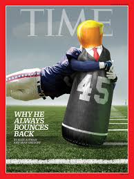 time u0027s latest cover creatively depicts how donald trump u0027always