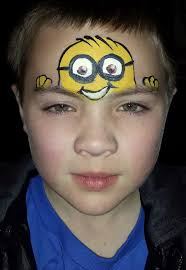 minion face paint we now have the good minion neighborhood