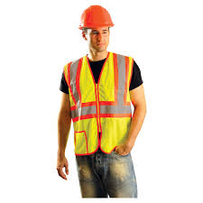 Construction High Visibility Clothing Occunomix Class 2 Mesh Two Tone Safety Vest Lux Ssclc2z