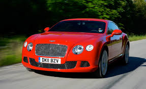 red bentley bentley continental gt speed headed for goodwood photos 1 of 1