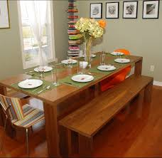 creative dining table bench seat with vintage banquette dining set