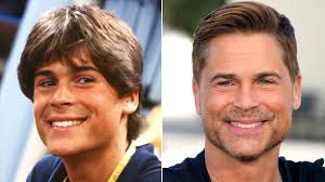 rob lowe u0027s hair is edgier than ever get the details people com