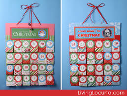 christmas advent calendar personalized free printable christmas advent calendar