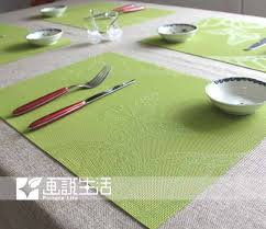 table mats and coasters fashion lattice placemats pvc placemat dining table mat coasters