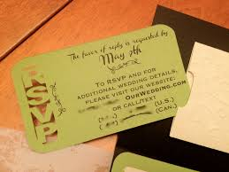 What Is Rsvp In Invitation Card Rsvp Card Crafty Wedding