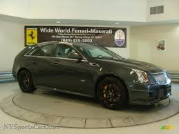 2013 cadillac cts wagon for sale 2013 cadillac cts v sport wagon in thunder gray chromaflair