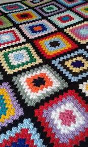 port power colours hand crochet rug new other home decor