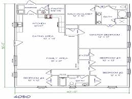 texas barndominium floor plans 40x50 metal building house plans