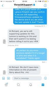 solved why lenovo p2 is not getting nougat update in uk lenovo