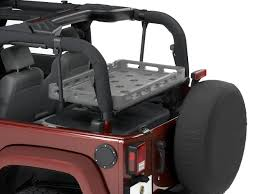 jeep lj interior jeep internal cargo rack quadratec