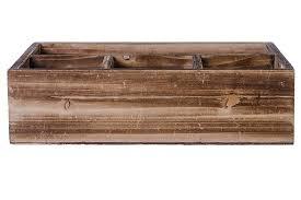 rustic wood office desk organizer rectangular u2013 dwellbee