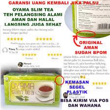 Teh Oyama jual teh hijau pelangsing teh peluntur lemak obat pelangsing oyama