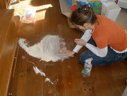 russelldad s how to give hardwood floors a distressed look