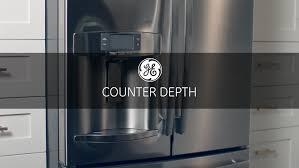 ge glass door refrigerator ge cye22tshss 36 inch counter depth french door refrigerator with