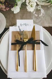 black and gold wedding ideas black tie wedding ideas that dazzle modwedding