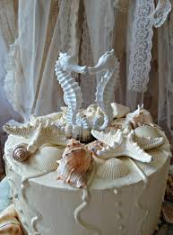 seahorse cake topper seahorse wedding cake topper coral seahorse cake