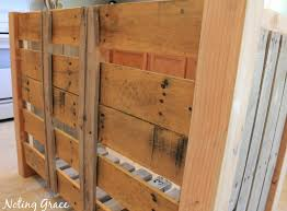 how to make a pallet wood dry good sign noting grace
