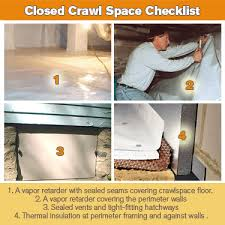 the crawlspace argument open vented vs closed encapsulated