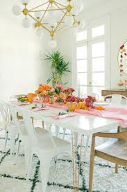 Orange Dining Room Pink Orange Fall Tablescape U2013 A Beautiful Mess