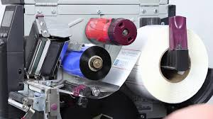 chagne ribbon how to change the ribbon on a zebra thermal transfer printer