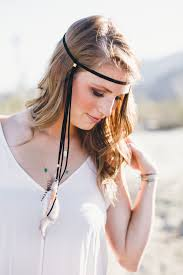 feather headbands feather headband to get statement boho look fashions fobia for