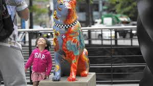 Chicago Police Crime Map by Dog Statues On Display Downtown Highlight Police Canine Unit