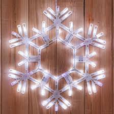 snowflake lights snowflakes 20 led folding twinkle snowflake decoration