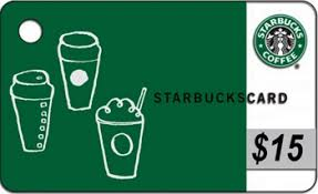 15 gift cards starbucks gift card 15 philadelphia bookstore