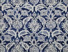 Blue Damask Upholstery Fabric Jim Thompson Fabric Ebay