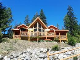 wrap around deck grand authentic log home with 25 u0027 high 180 vrbo