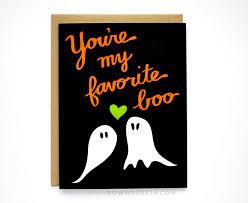 halloween boo halloween card you u0027re my favorite boo i love you card