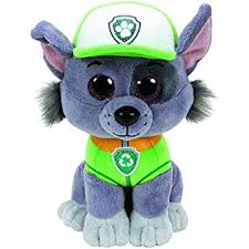 amazon paw patrol plush pup pals rocky toy toys u0026 games