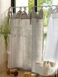 Curtains For Kitchen Window by Vintage Linen Grain Sack Cafe Style Curtain For The Home