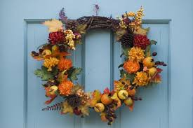 outdoor thanksgiving outdoor thanksgiving wreath ideas with fall fruit and flowers