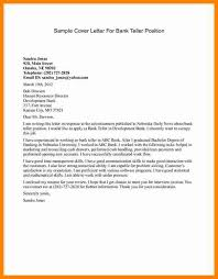 trend sample cover letter for teller position with no experience