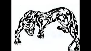 tribal panther tattoo photo photos pictures and sketches