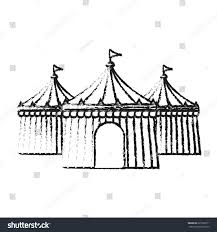 circus tent icon image stock vector 625536611 shutterstock