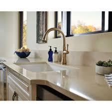 bronze pull kitchen faucet rubbed bronze chagne kitchen faucet centerset single handle