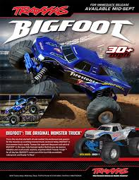 bigfoot monster trucks news u2013 new traxxas bigfoot r c monster trucks bigfoot 4 4 inc