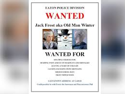 jack frost elsa punxsutawney phil wanted by police but who u0027s to