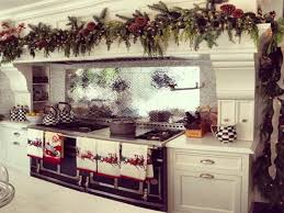 kitchen design overwhelming festive decorations christmas