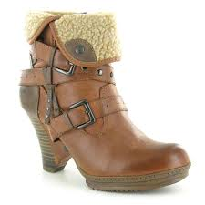 womens boots pavers 1107 604 warm lined ankle boots mustang boots